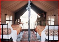 Camp Moremi Mobile Camp Tent
