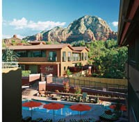 Sedona Rouge Outdoor Pool View