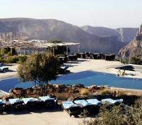 Sahab Hotel - Pool and Mountain View