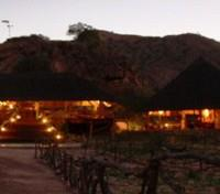 Khowarib Lodge Dining