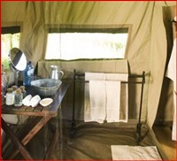 Savute Under Canvas Bathroom