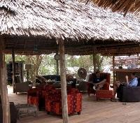 Selous Wilderness Camp - Lounge
