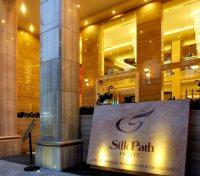 Silk Path Hotel Entrance