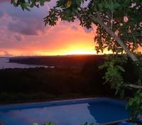 Sunset at the Sumba Nautil Resort