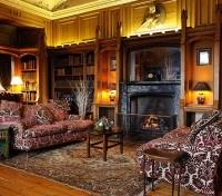 Dalhousie Castle Drawing Room