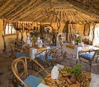 Tindiga Tented Camp - Dining