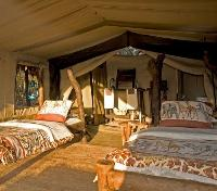 Tindiga Tented Camp - Standard Tent Room