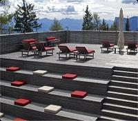 Vigilius Mountain Resort Outdoor Lounge Area