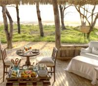 Dining at Mnemba Island Lodge