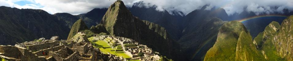 The Rainbow Route to Machu Picchu