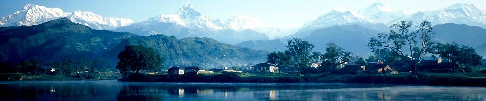 Phewa Lake near Pokhara