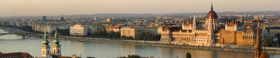 Danube River Panorama