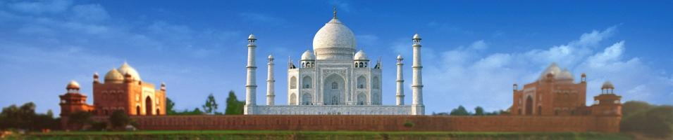Focus on the Taj Mahal
