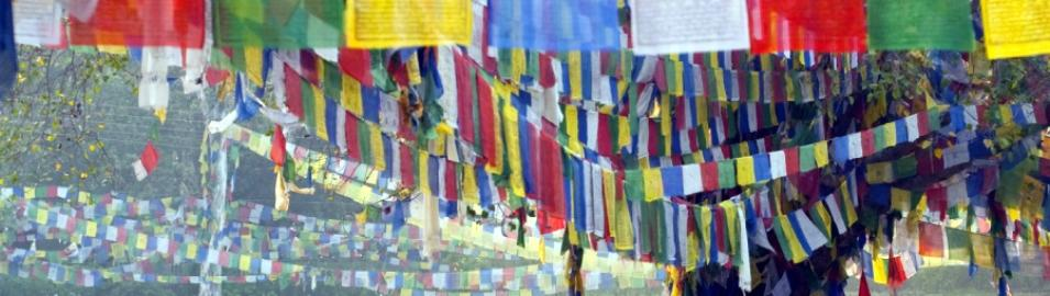 Lumbini Prayer Flags