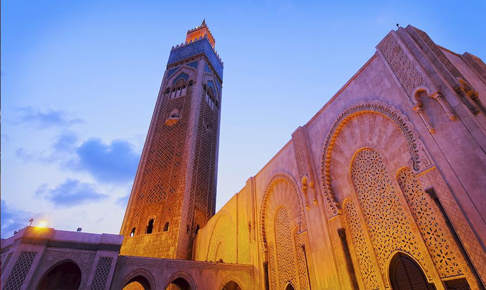Experience the culture and architecture of Casablanca.