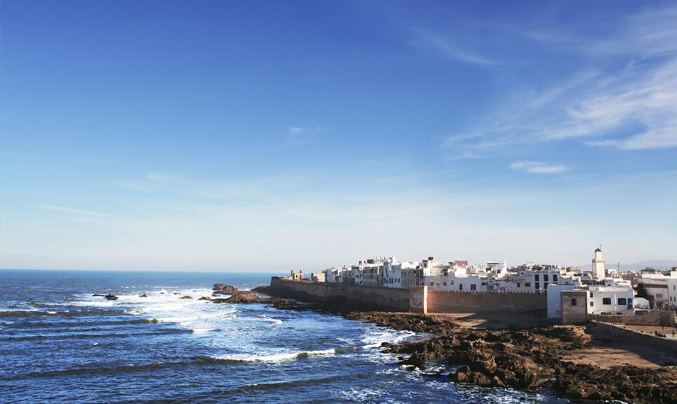 Visit the seaside town of Essaouira.