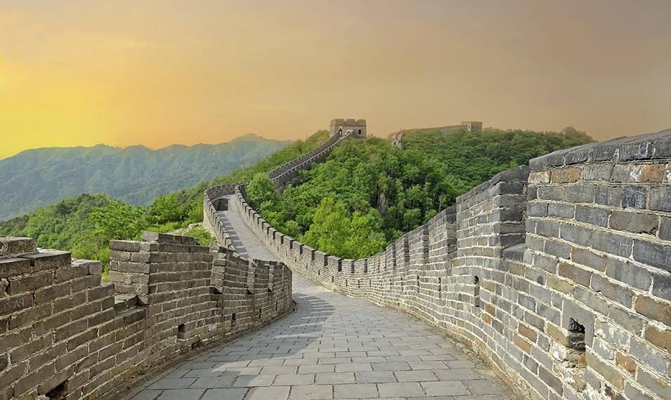 Walk along the timeless Great Wall.