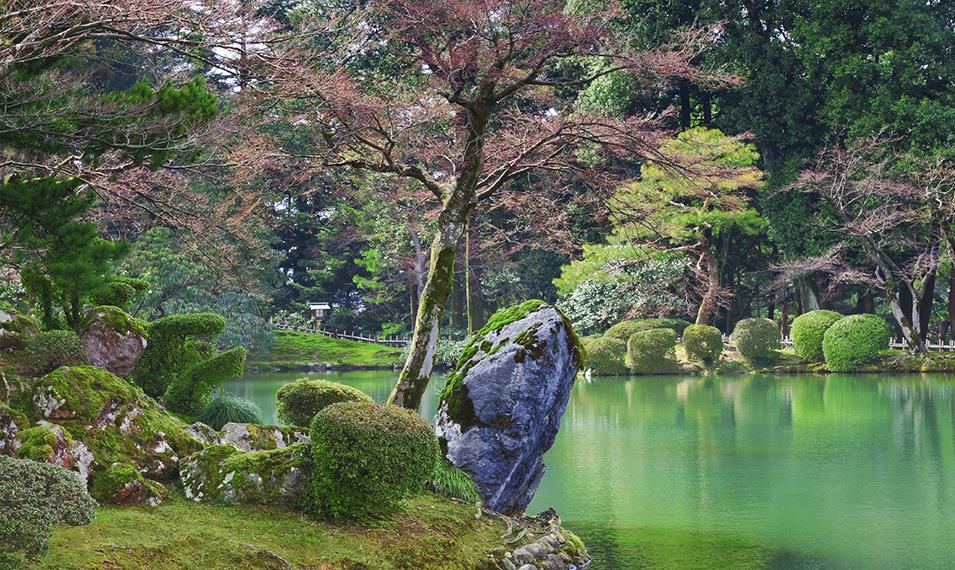 Visit some of the world's most beautiful gardens and temples.