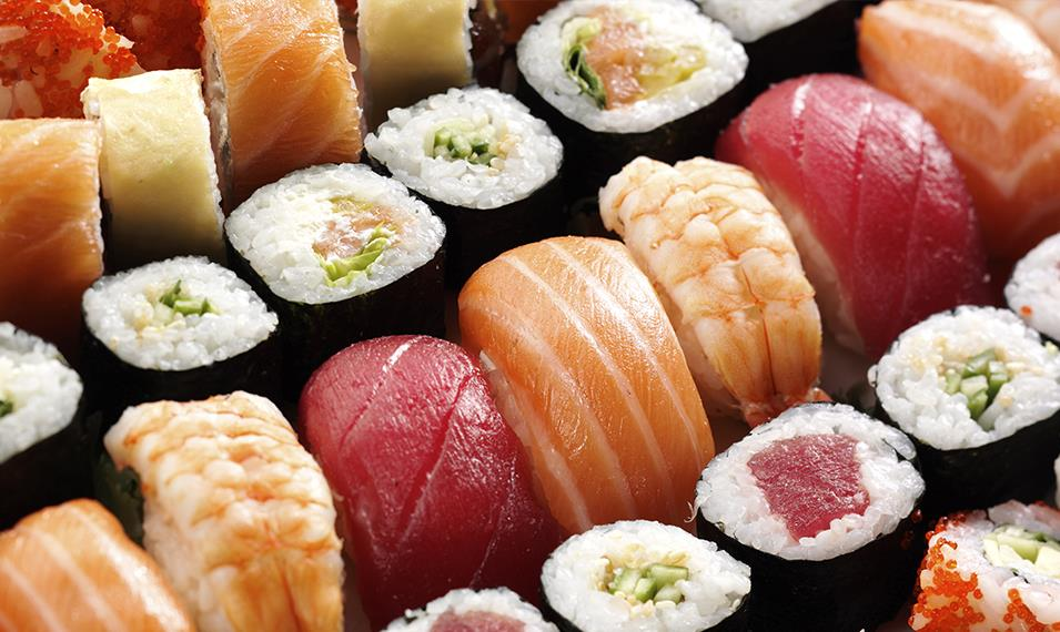 Learn to make delicious sushi during a cooking class.