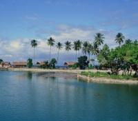 A Lagoon by Kuta Beach