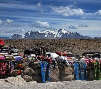 Roadside market near colca canyon