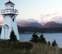 Canada Newfoundland Woody Point Lighthouse