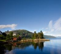 Balestrand and Fjord