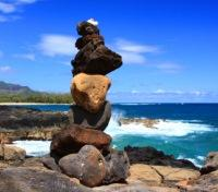 Beach Art - Rock Formation