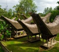 Tongkonan Boat Houses