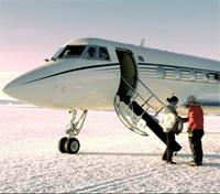 Private Jet to Antarctica