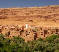 Moroccan Village in the Atlas Mountains