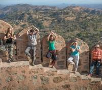ME to WE: India Discovery & Volunteering Tours 2017 - 2018 -  Kumbhalgarh Fort