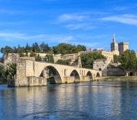 Paris, Provence & Barcelona by River Cruise Tours 2019 - 2020 -  Avignon Bridge with Popes Palace