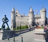 Paris, Amsterdam & Tulip River Cruise Tours 2017 - 2018 -  Antwerp Castle