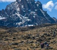Machame Climb (Highlights) Tours 2017 - 2018 -  Approaching Mawenzi Peak