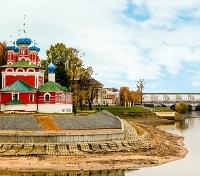 Moscow to St Petersburg Cruise  Tours 2017 - 2018 -  Uglich