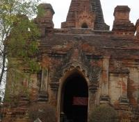 Myanmar Temples & Irrawaddy Cruise Tours 2019 - 2020 -  Gubyaukgyi Temple