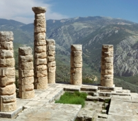 Greece & Turkey Highlights Tours 2019 - 2020 -  Temple of Apollo, Delphi