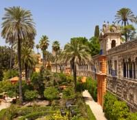 Southern Spain and Morocco Highlights Tours 2018 - 2019 -  Alcázar Palace Gardens