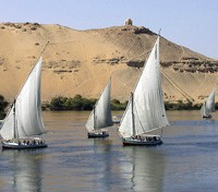 Egypt & Jordan Exclusive Tours 2017 - 2018 -  Feluccas on the Nile
