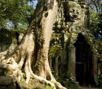 Cambodia Family Adventure Tours 2017 - 2018 -  Gate of Angkor Thom