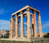 Greek Island Honeymoon Tours 2017 - 2018 -  Temple of Olympian Zeus