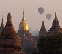 Mysteries of Myanmar Tours 2019 - 2020 -  Balloons Over Bagan