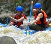 Costa Rica Cloudforest & Coast Tours 2018 - 2019 -  Balsa River Rafting