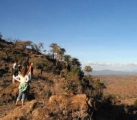 Kenya Active Adventure Tours 2019 - 2020 -  Walking safari in the hills