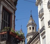 Chile and Argentina Lake Crossing Essential Tours 2019 - 2020 -  Church Tower in San Telmo