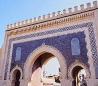 Grand Moroccan Journey Tours 2017 - 2018 -  Bab Boujelud Gate to the Medina