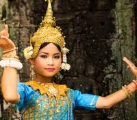 Cambodia Family Adventure Tours 2017 - 2018 -  Apsara Dancer