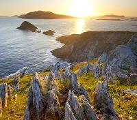 Celtic Roots of Ireland Tours 2019 - 2020 -  Flight Over the Blasket Islands