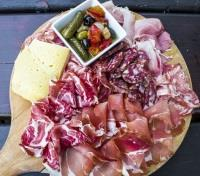 Indulgent Italy Tours 2019 - 2020 -  Cheese & Meat Platter